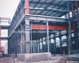 큰 경간 고강도 가벼운 강철 구조물 작업장 (DG2-051)
