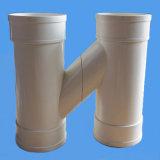 Cruce de tubo de PVC Tipo H apenas para el drenaje