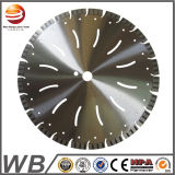 Sierra de diamante segmentada Herramientas de corte de piedra CNC
