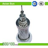 Conductor reforzado acero de aluminio de arriba estándar del conductor de ASTM