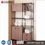 Muebles Acero-De madera ajustables de la unidad de la asamblea fácil con los cajones
