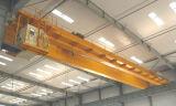 강철 구조물 사용 두 배 대들보 천장 기중기 브리지 기중기
