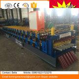 A telhadura corrugada metal lamina a formação da manufatura da máquina