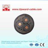 Пламенно XLPE ПВХ изоляцией высокого напряжения для строительства подземных кабелей питания
