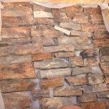 자연적인 녹스는 슬레이트 느슨한 돌 문화 돌 (SMC-FS051)