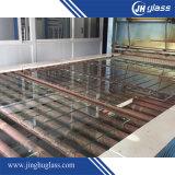 3mm-19mm verre de flotteur tempéré personnalisé pour le bâtiment