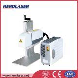Маркировка ювелирных изделий названной плиты Engraver лазера волокна и автомат для резки 20W 30W