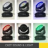 36*18W RGBWAの紫外線6in1移動ヘッド洗浄LED段階の照明