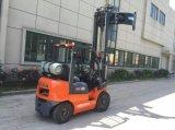 Ce \ ISO9001 keurde 2 de Vorkheftruck van de Ton Gasoline/LPG met de Motor China van Nissan goed