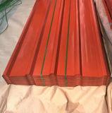 Ziegelstein-Korn PPGI runzelte Stahlbleche/vorgestrichenen galvanisierten Stahlring/Gi