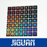 O holograma transparente adesivo de Siver Overlay para o cartão do PVC
