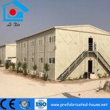 Edificio de oficinas prefabricado del marco de acero del diseño de interior simple y limpio
