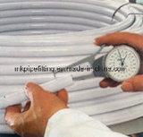 Труба 1216 Pex Al Pex сварки в стык для горячей воды в белом цвете