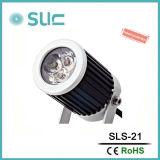 IP65 de aluminio de pequeños accesorios de iluminación LED para exteriores