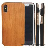 طبيعيّة حقيقيّة خشبيّ هاتف حالة لأنّ [إيفون] [إكس]