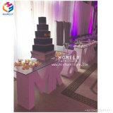 Banquet de mariage bébé MDF Lettre Table Table en bois blanc