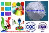 Inhoud van het rutiel 97%Min het Dioxyde van het Titanium van het Rutiel R102 voor Industriële Deklagen, de Deklagen van het Poeder