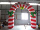 膨脹可能な入口のアーチ/屋外のクリスマスの装飾の膨脹可能なアーチ