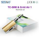 도매가 Seego는 공기 월마트 전자 담배를 Tc 50W+G 명중했다