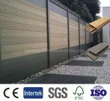 Decking/revêtement composés en plastique en bois durables des planches WPC pour la décoration extérieure