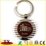 Custom раунда поверните кольцо цепочки ключей