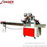 Máquina profesional industrial que envuelve la empaquetadora de la barra de energía