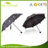 UV защитите зонтик творческих способностей 3 створок специальный