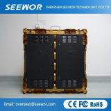 Alto brillo P6.66mm Color exterior Panel de pantalla LED para alquiler