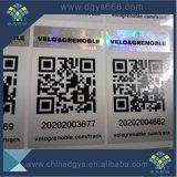 Código de barras e Código QR Holograma Adesivo Anti-Contrafacção)