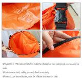 sofa gonflable d'air du sommeil 201t de lieu de visites de Laybag de sac promotionnel en nylon de configuration pour extérieur