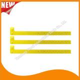 催し物のプラスチック習慣IDのブレスレットのリスト・ストラップ(E8070-88)