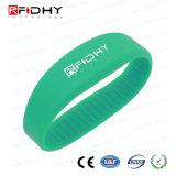 Lf/Hf/UHF RFIDのシリコーンの防水リスト・ストラップ