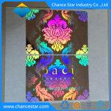 Sticker van de Folie van de Sticker van het Hologram van de douane de Zelfklevende 3D Holografische