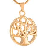 生命記念の壷の宝石類の卸し売り木はホールダーのペンダントに灰を振りかける