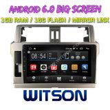 "Witson 10,2"" большой экран Android 6.0 DVD для Toyota Прадо 2014"