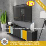 Armoire en bois de verre aluminium moderne/ bureau de poste de travail Partition (HX-8N0558)