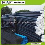Tubulação da drenagem do HDPE para o esgoto Pn10