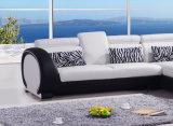 Sofá Home 6040b# ajustado do couro da mobília