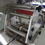 Galletas de chocolate Pastel de almohada Horizontal rotativa de la máquina de embalaje