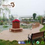 Decking al aire libre de madera del compuesto WPC de la buena calidad de 140*23 milímetro