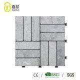 Het Chinese Marmer van het Onyx van het Gezicht van de Fabriek Antislip Uitstekende Gespleten Ruwe kijkt de Matten van de Tegels van de Vloer van het Patroon voor de Gang van het Huis