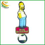 Magnete divertente del frigorifero della resina del PVC del fumetto 3D per la decorazione/ornamento