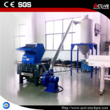 Shredder e triturador plástico ativo/máquina de esmagamento plástica automática