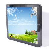 Для использования вне помещений на открытой раме с высокой яркостью ЖК монитор с 17сенсорного экрана