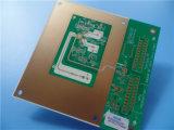 Sem corrente de Placa de Circuito do Ouro de imersão de níquel Poliimida 50um dielétrico especificado