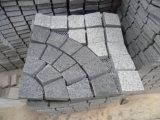 Pedra do cubo do granito dos Pavers da passagem dos pavimentos do piso do jardim
