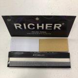 Un papier de roulement large simple plus riche pour Smooking avec des extrémités de filtre