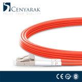Cavo di zona ottico personalizzato della fibra del connettore di LU