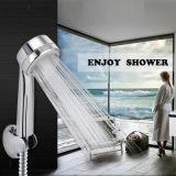 고압 샤워 꼭지 물 저축 안마 분사구 강우 목욕탕 소형 샤워
