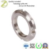 Aço inoxidável Alumínio Latão Aço redondo de ferro as Porcas do Eixo